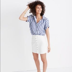 Madewell Skirts - 'Last Chance' Madewell White Jean Skirt Size 23